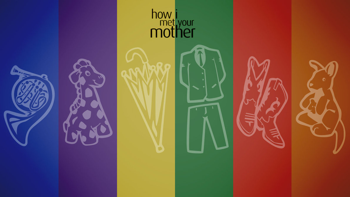 This One - Met Your Mother Wallpaper Minimalist , HD Wallpaper & Backgrounds