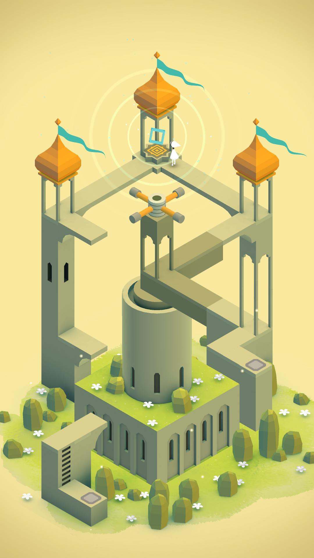 Best Hd 8 Bit Iphone Wallpaper - Monument Valley Game , HD Wallpaper & Backgrounds