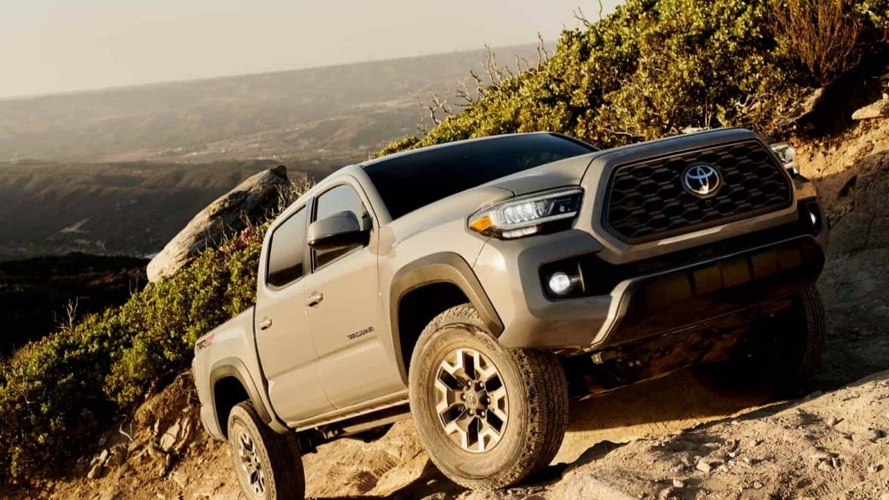 Best 2020 Toyota Trd Pro Trucks Side High Resolution - 2020 Tacoma Trd Pro , HD Wallpaper & Backgrounds
