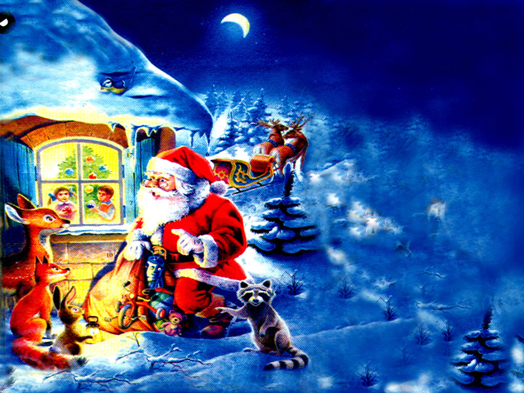 Santa Claus Christmas Desktop Santa Claus Images Hd