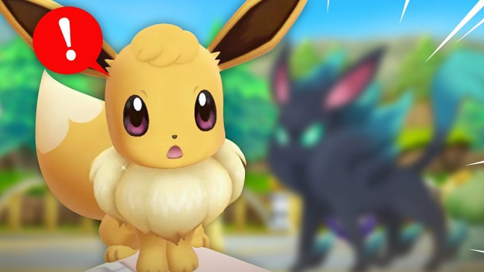 These Eevee Evolutions Need To Be Added To Pokemon - Pokemon Let's Go Eevee , HD Wallpaper & Backgrounds