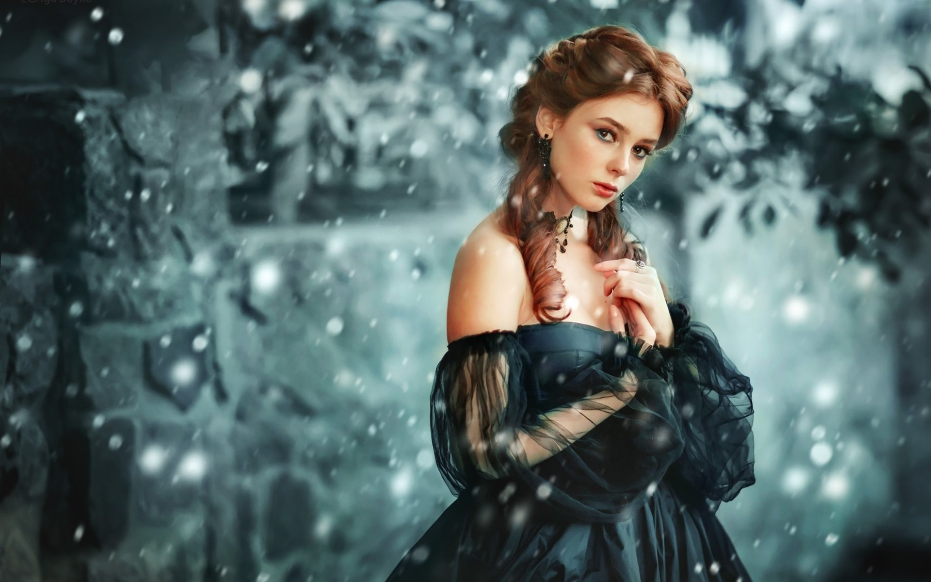 Wallpapers Id - - Princess With Long Black Hair , HD Wallpaper & Backgrounds