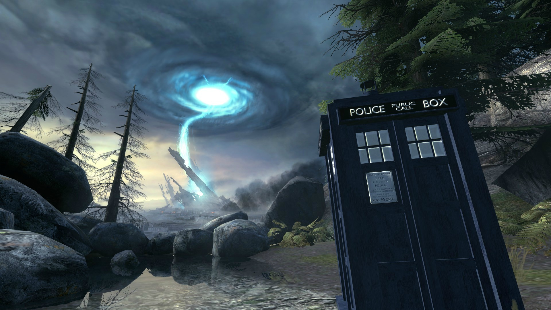 Doctorwho Half Life 2 Mod Doctor 1824817 Hd Wallpaper