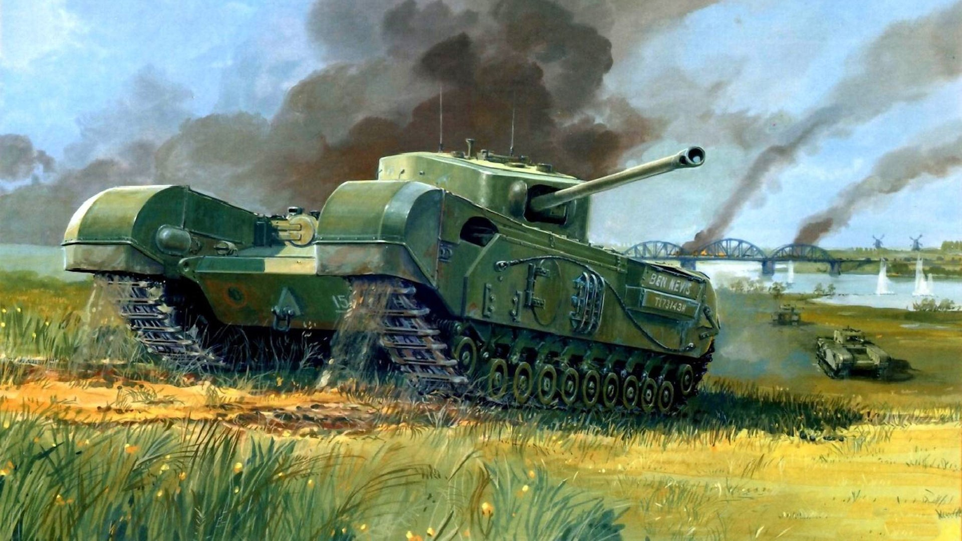 Killer Tanks - The Churchill Tank