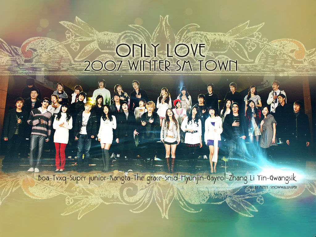 Snsd Smtown Only Love 1833264 Hd Wallpaper Backgrounds