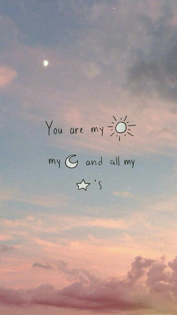 You Are My Sun My Moon And All My Stars , HD Wallpaper & Backgrounds