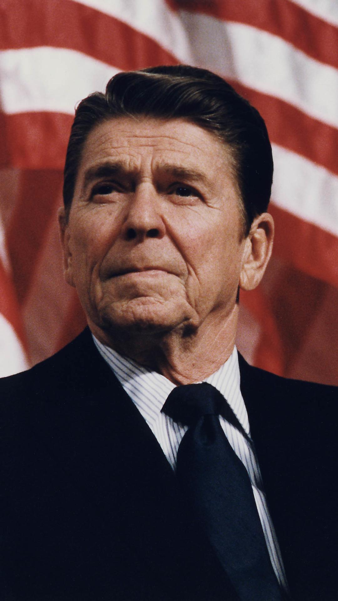 Celebrity Ronald Reagan Mobile Wallpaper Ronald Reagan