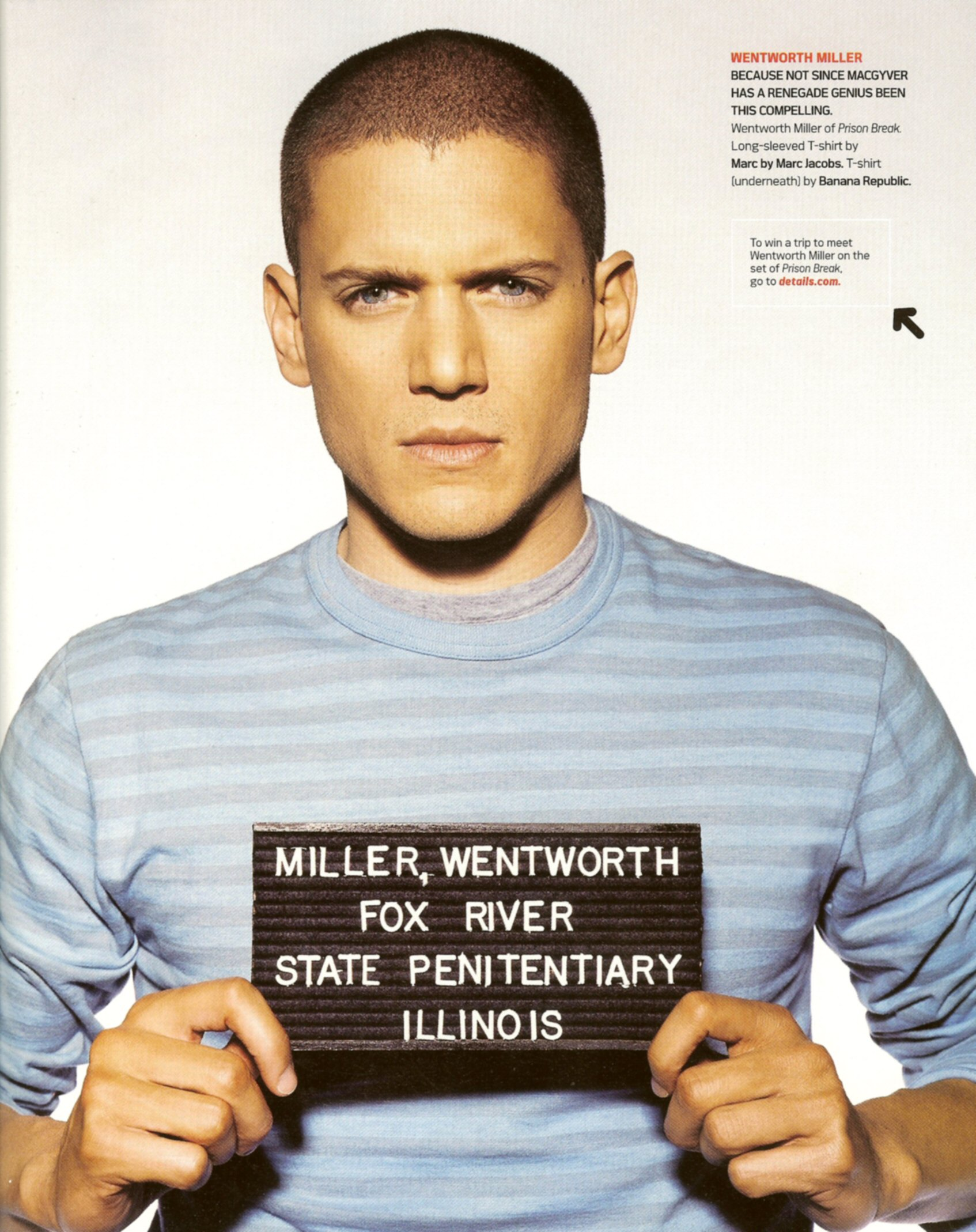 Photo Of Wentworth Miller Michael Scofield 1836953 Hd