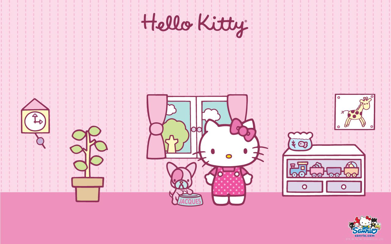Wallpaper Hello Kitty Lucu 42 Hello Kitty Sanrio