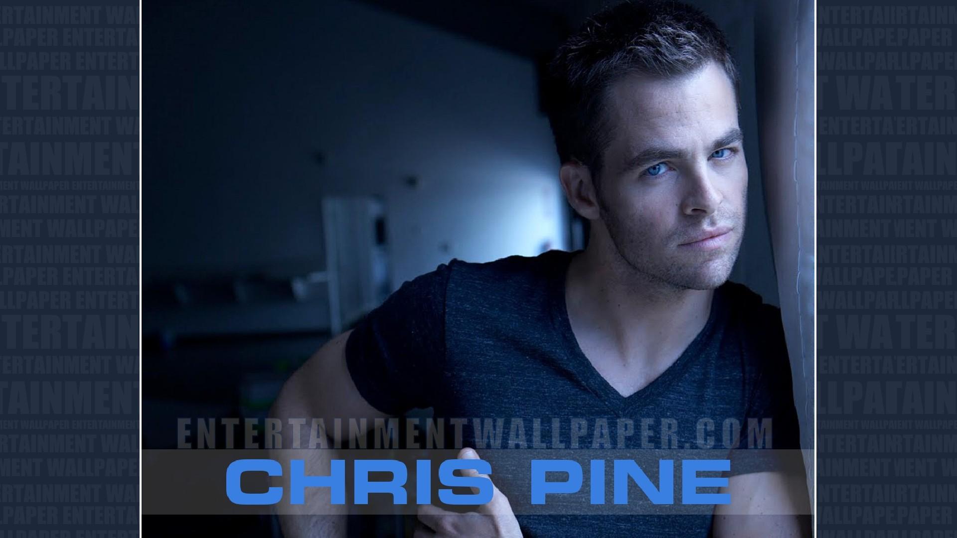 Chris Pine Wallpaper - Photo Caption , HD Wallpaper & Backgrounds