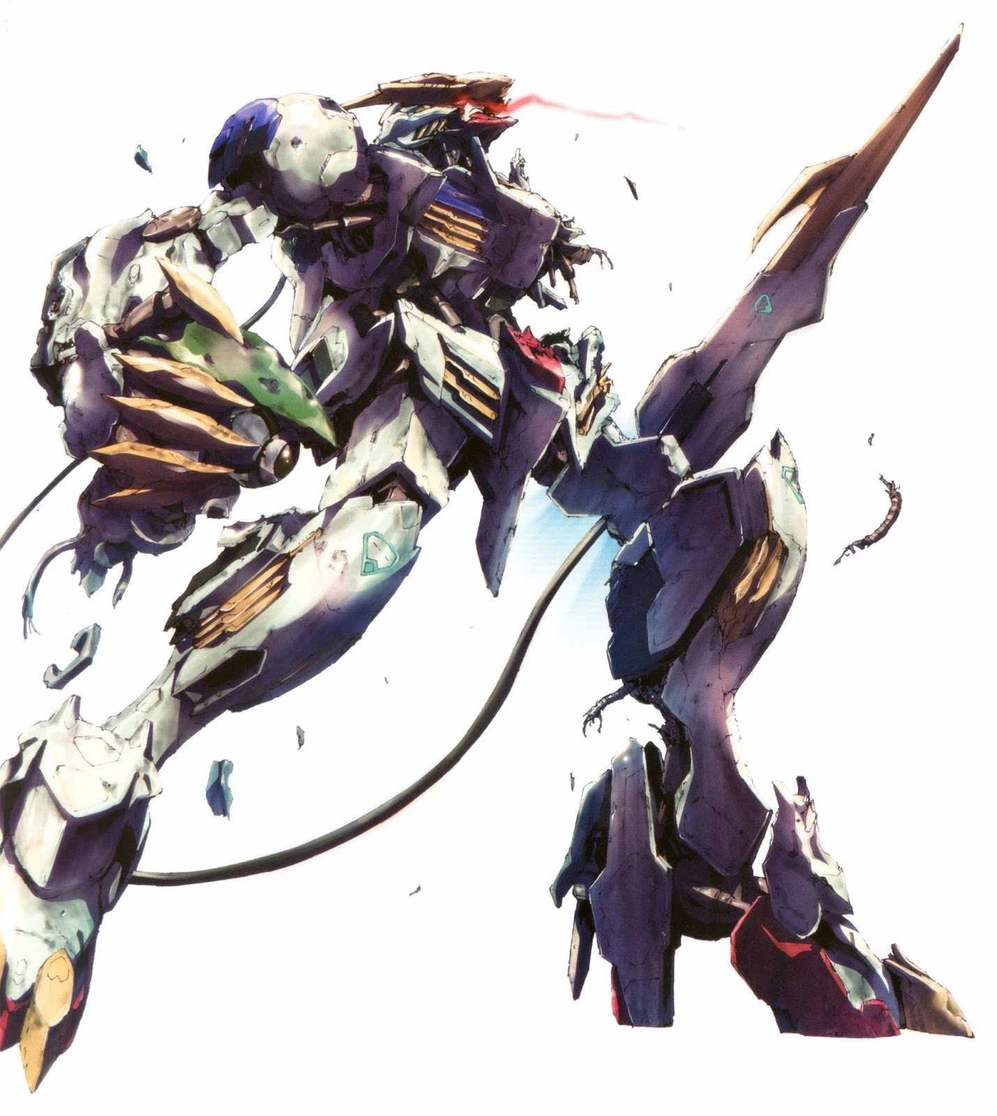 Images From Gundam Try Age Card Game Gundam Barbatos Lupus Rex