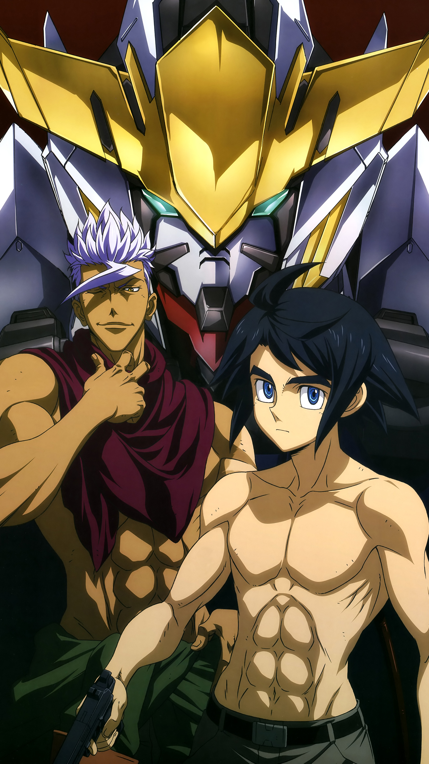 Download All In This Section - Mobile Suit Gundam Iron Blooded Orphans Calendar , HD Wallpaper & Backgrounds