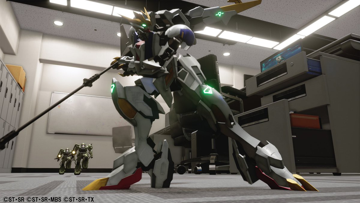 Gundam Breaker Will Be Arriving For The Ps4 In Gundam Barbatos