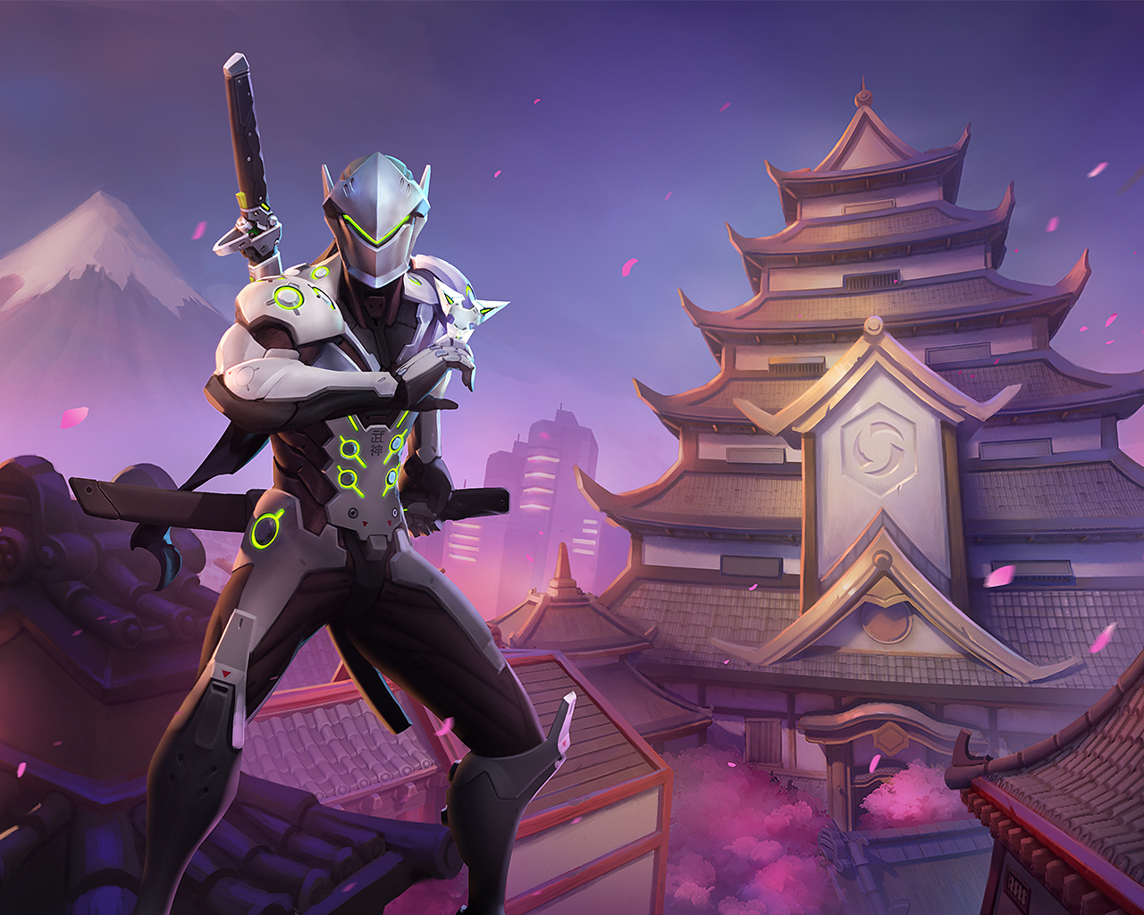 Genji Heroes Of The Storm 1841888 Hd Wallpaper Backgrounds