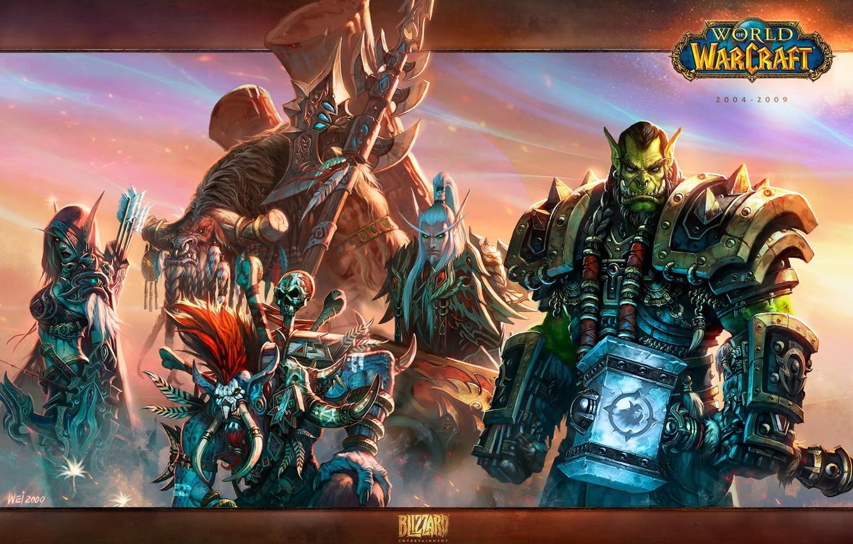 Photo Wallpaper Weapons Blizzard Wow World Of Warcraft World