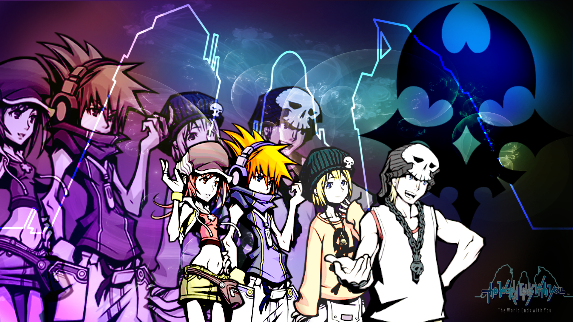 The World Ends With You Wallpapers Desktop Px World Ends With