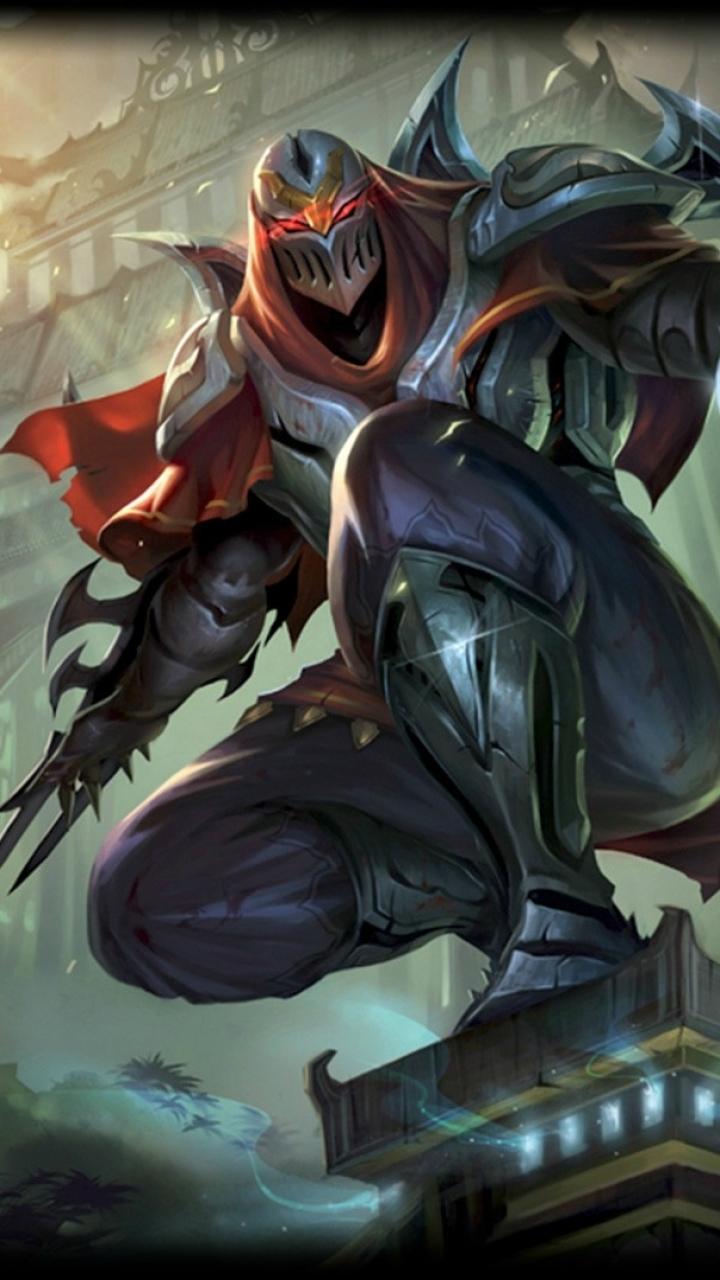 League Legends Taric Armor Mobile Wallpaper Lol Zed