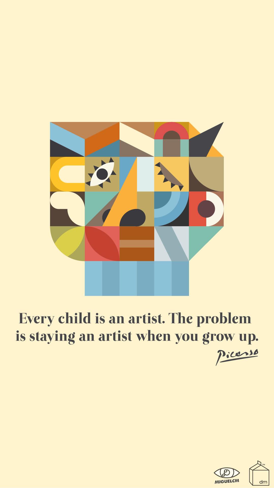 Design Milk Wallpaper Picasso Quotes Iphone 1845479 Hd