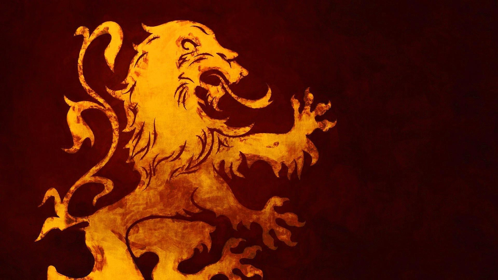 A Song Of Ice And Fire, Game Of Thrones, House Lannister, - Game Of Thrones Lannister Background , HD Wallpaper & Backgrounds