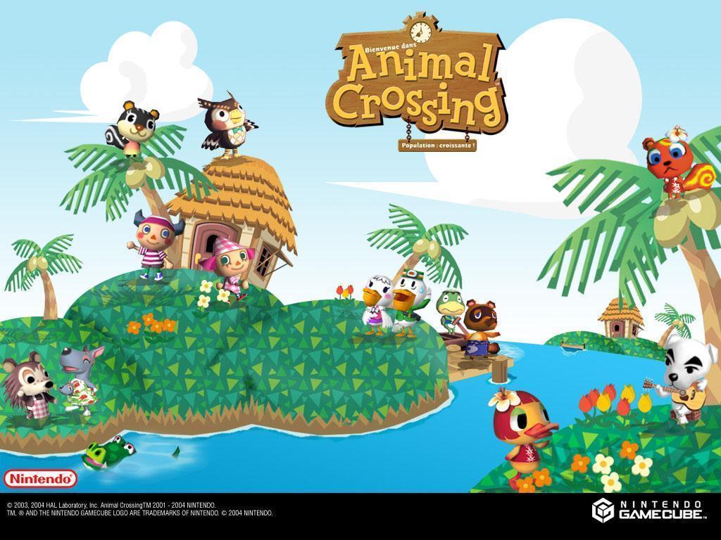 Animal Crossing Hd Wallpaper Wallpapersafari Animal Crossing
