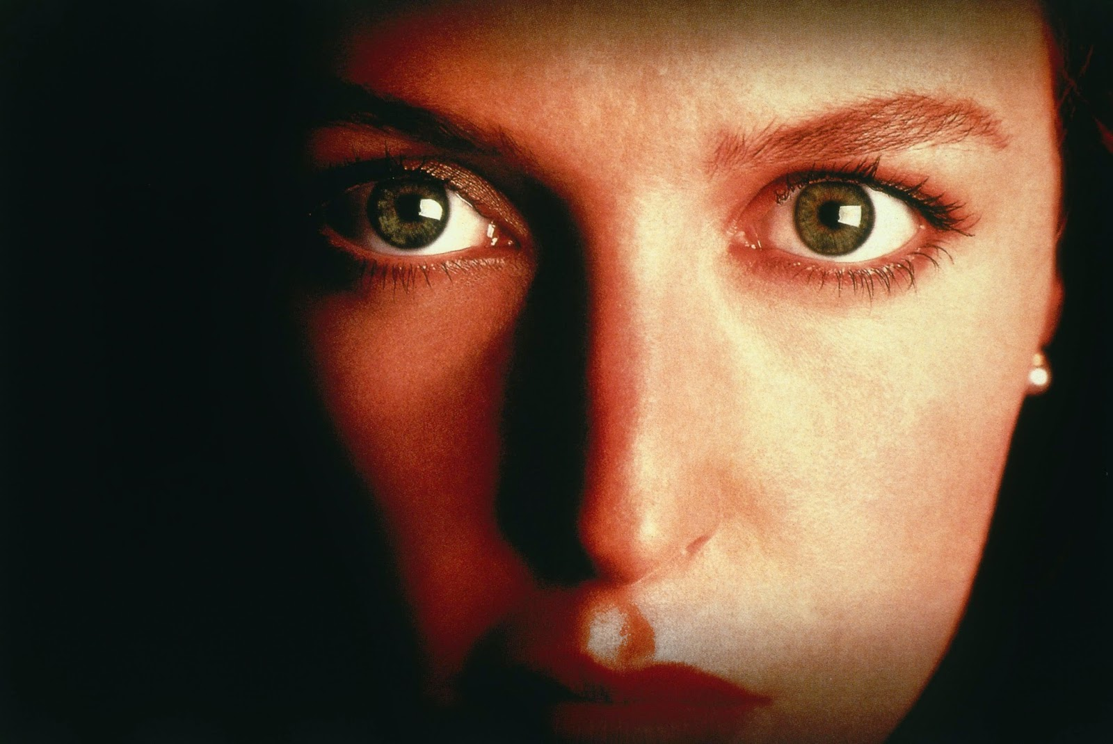 Never Again - Scully X Files Eyes , HD Wallpaper & Backgrounds