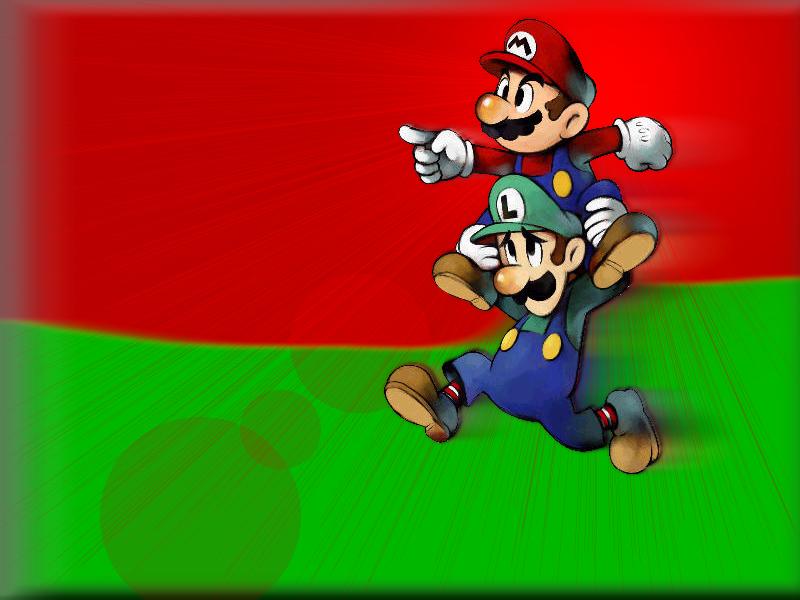 Mario And Luigi Wallpaper Super Mario E Luigi 1849662