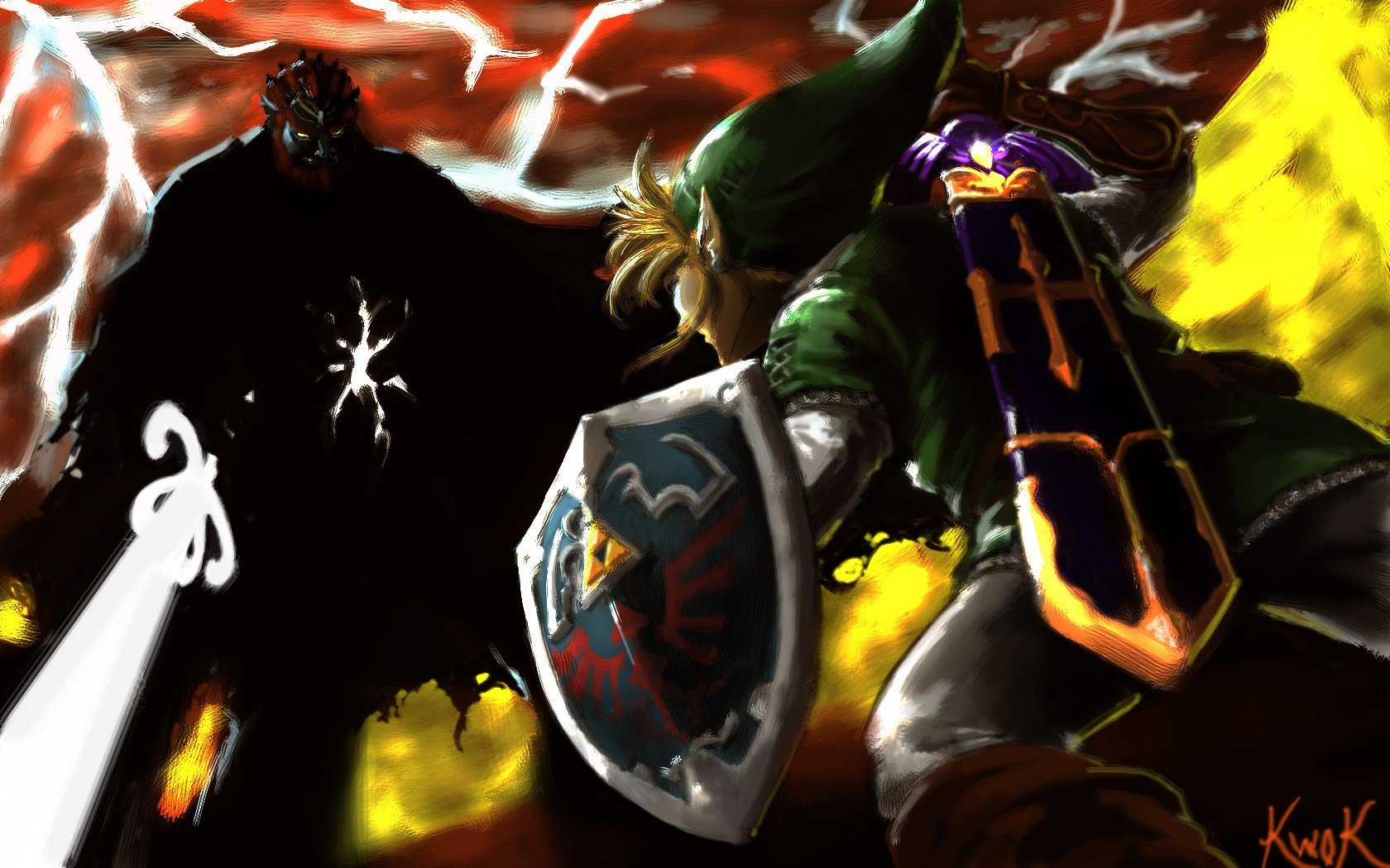 Link Ganondorf Wallpaper And Background Jpg 298 Kb Link Vs