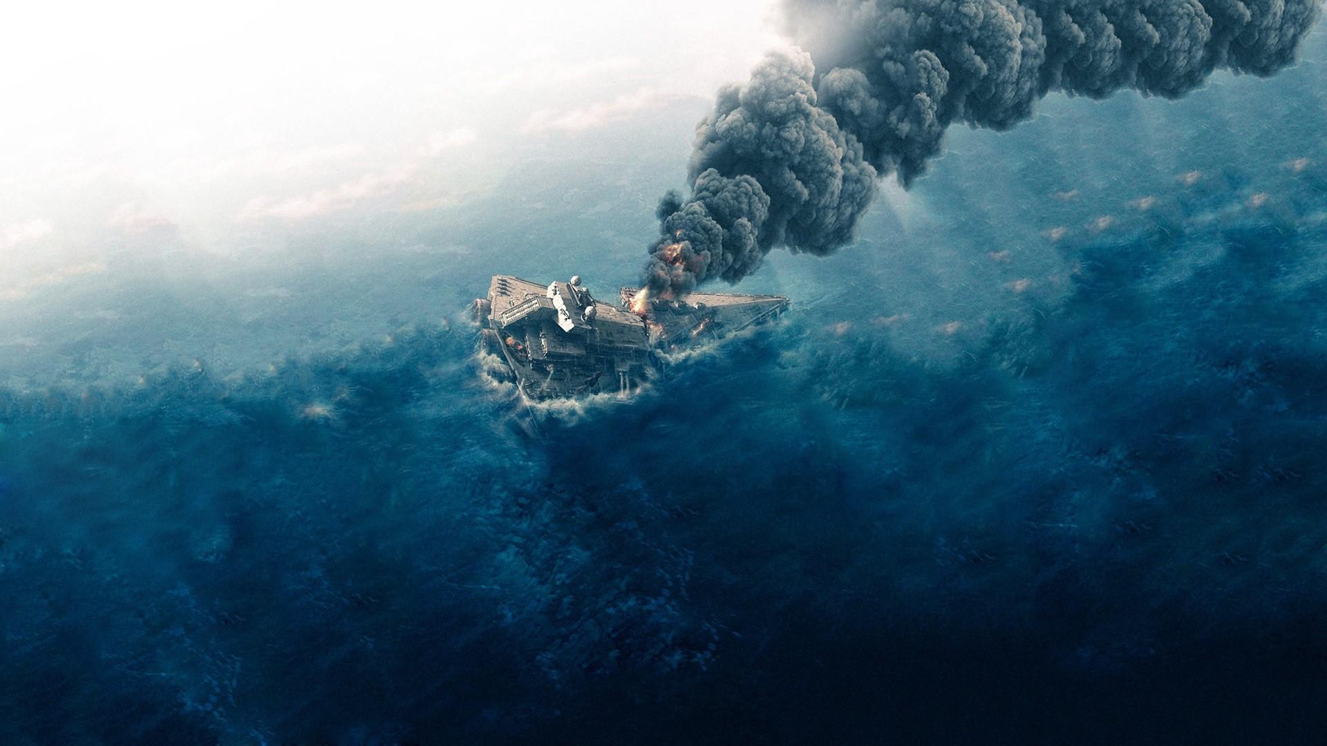 Star Wars, Star Destroyer 4k Hd Wallpaper - Star Wars Aftermath Poster , HD Wallpaper & Backgrounds