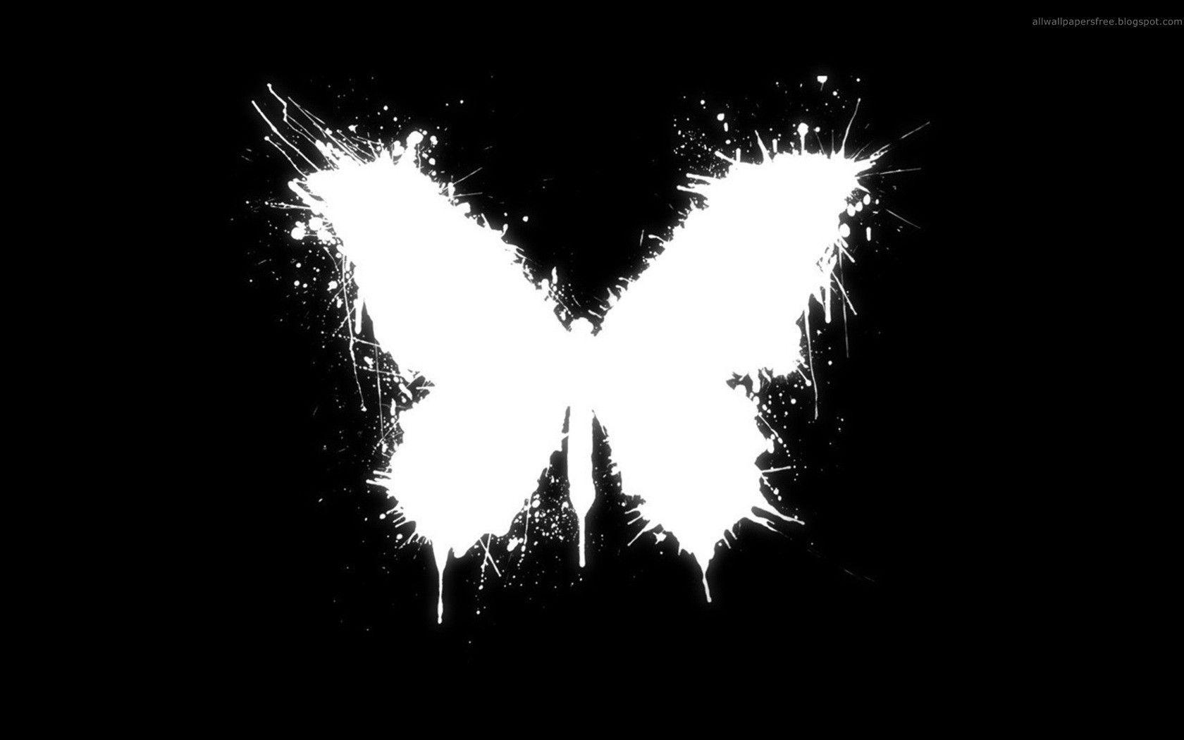 Black And White Butterfly Wallpapers Downloads 14892 Black And White Background Butterfly 1852584 Hd Wallpaper Backgrounds Download