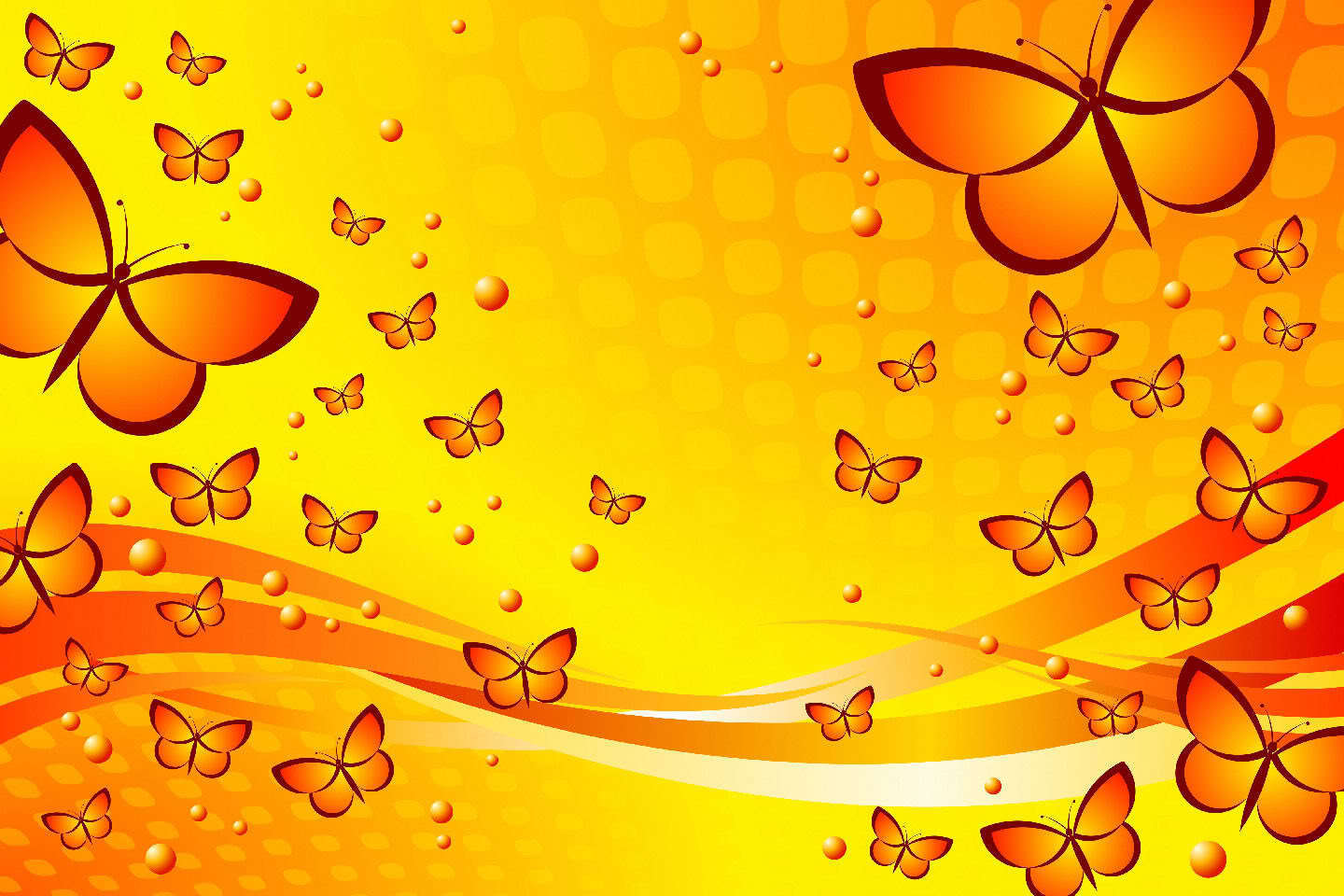 Pink And Yellow Butterfly Background , HD Wallpaper & Backgrounds