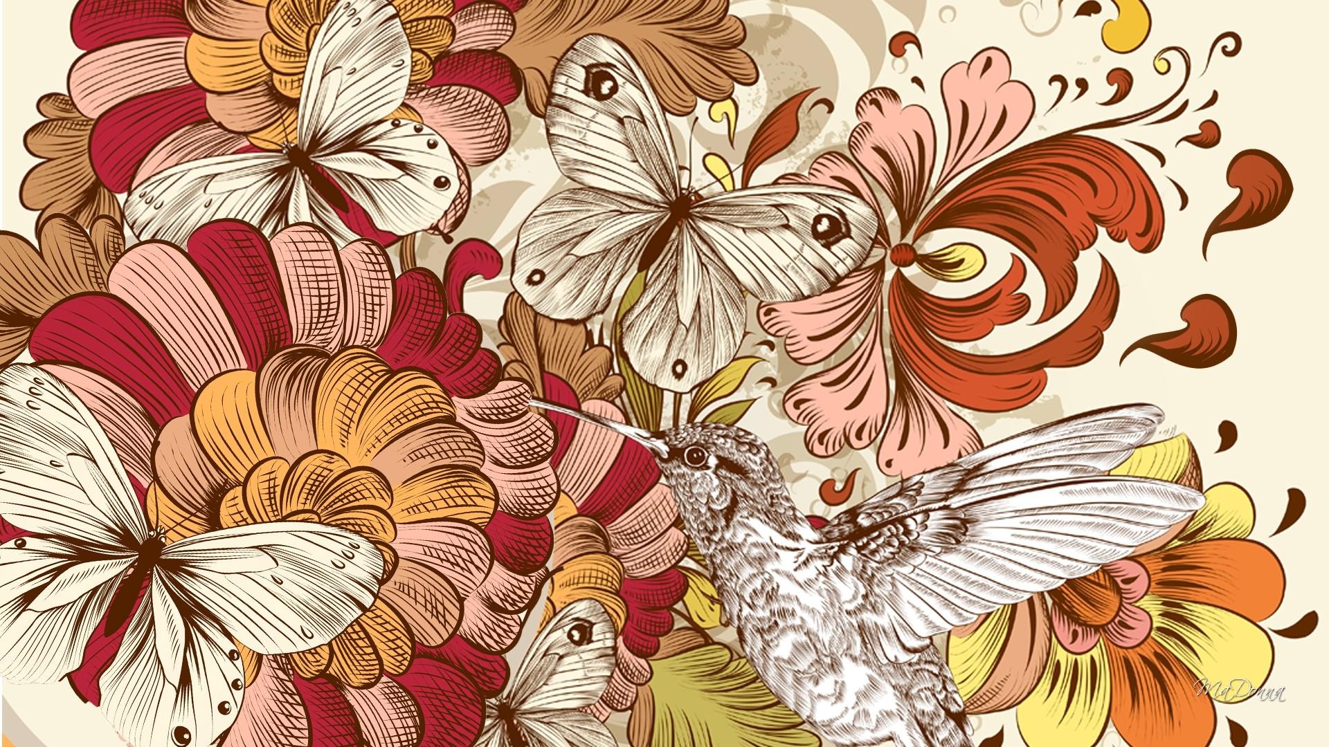 Desktop Wallpaper Vector 1080p Beautiful Widescreen , HD Wallpaper & Backgrounds