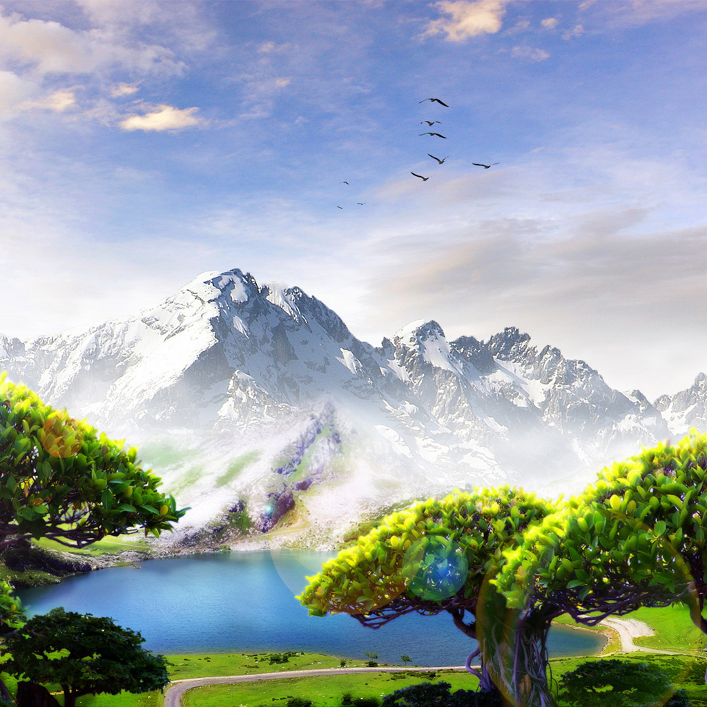 Scenery Wallpaper For Mobile Phone Mountains Background Hd