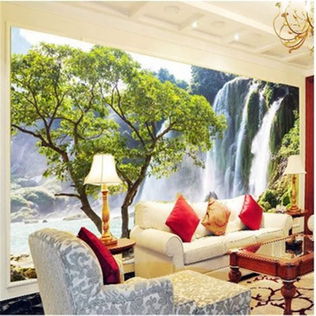 Senarai Harga Custom Photo Wallpaper Large Mural Living Papel De