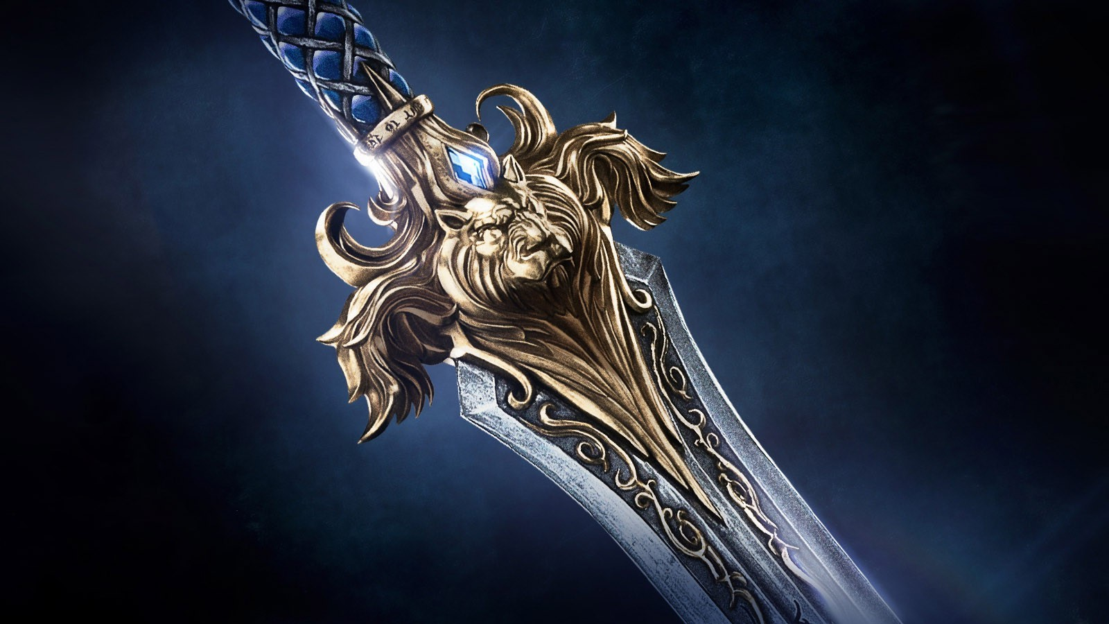 Alliance Warcraft World Of Warcraft Movies Sword Lion
