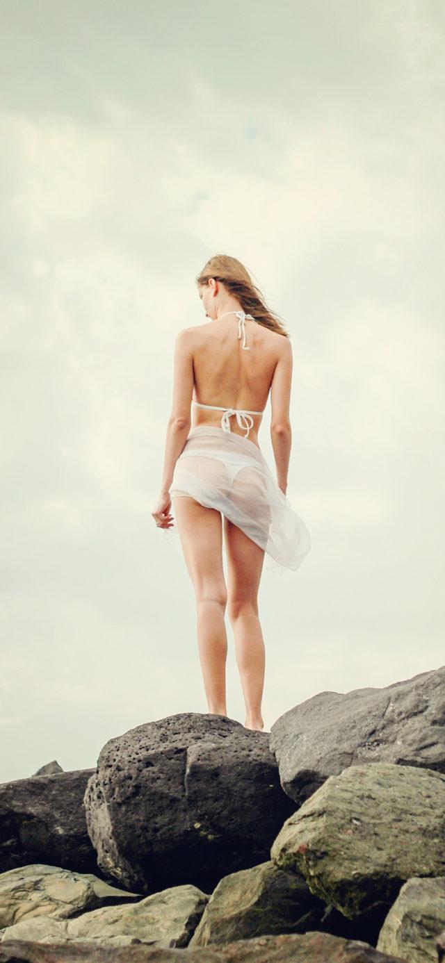 Summer Sexy Bikini Girl Sea Iphone X Wallpaper - Обои Iphone X Girl , HD Wallpaper & Backgrounds