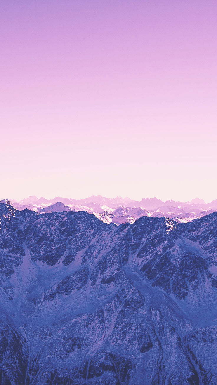 Pink Mountain Iphone Wallpaper - Iphone 10 Xs Max Background , HD Wallpaper & Backgrounds