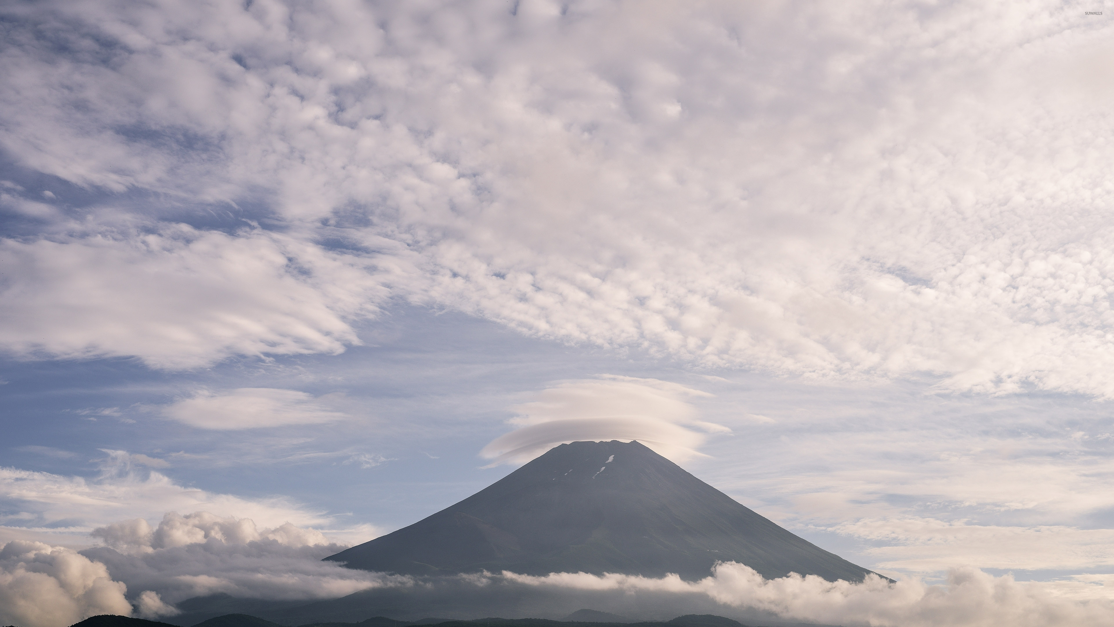 Mount Fuji [8] Wallpaper - Stratovolcano , HD Wallpaper & Backgrounds