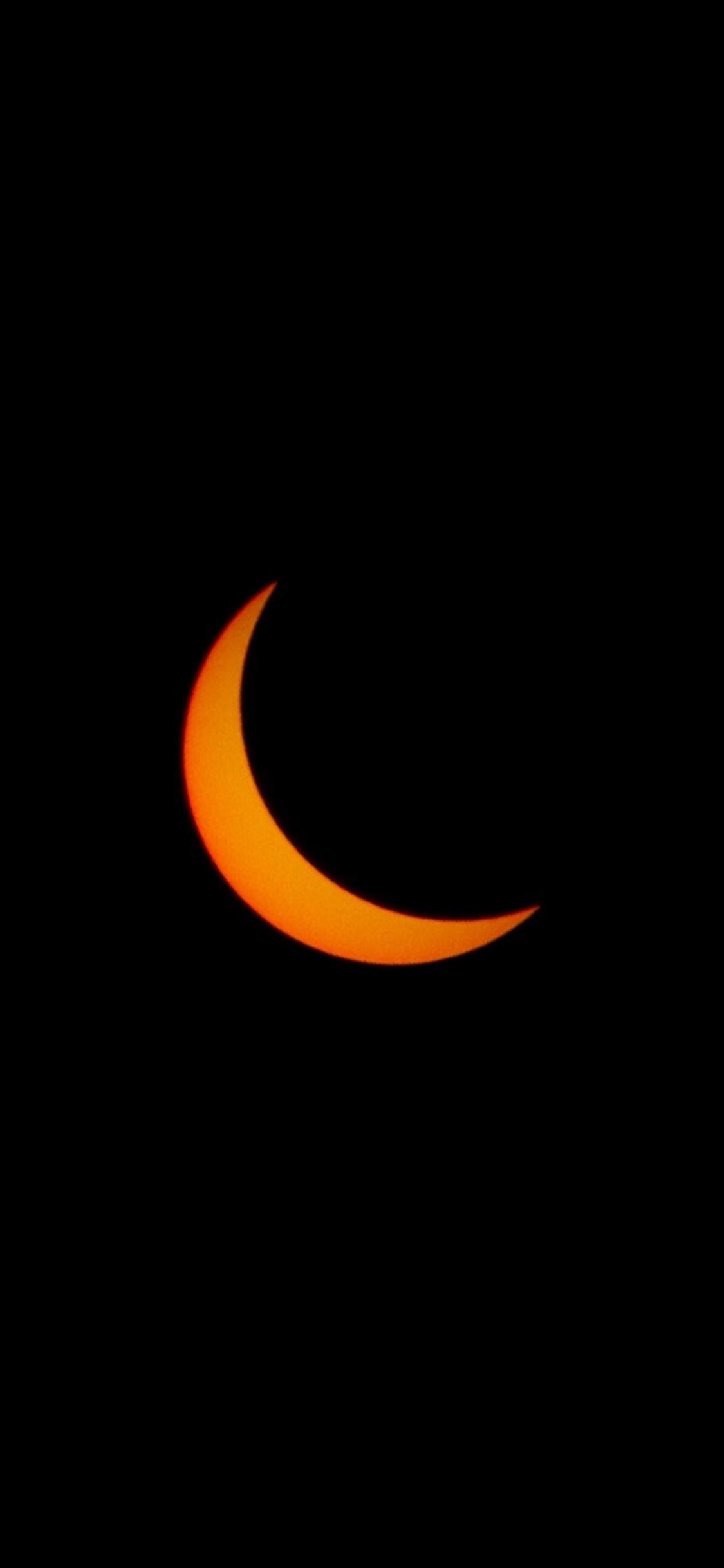 Crescent, Moon, Sky, Minimal, Wallpaper - Мусульманские Обои На Айфон , HD Wallpaper & Backgrounds