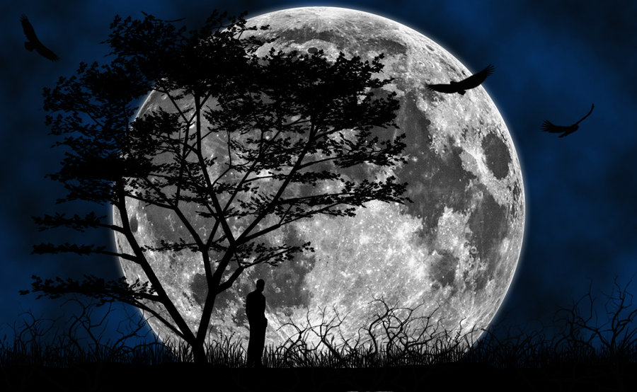 The Blue Moon Hd Wallpapers Pixelstalk Remarkable Moon - Moon Wallpaper Desktop Hd , HD Wallpaper & Backgrounds