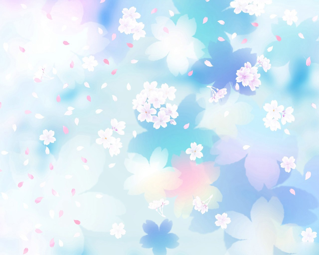 Blue Flowers White Background 1872280 Hd Wallpaper