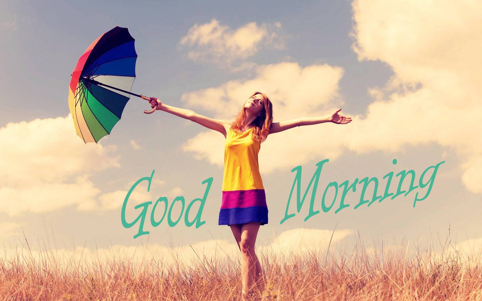 Good Morning Girl With Lovely Morning Special Image - Good Morning With Girls , HD Wallpaper & Backgrounds
