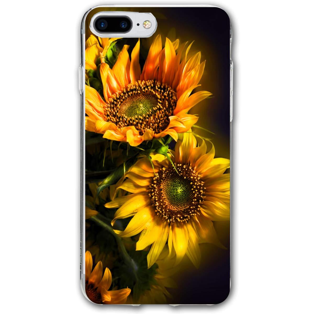 Orange Sunflower Wallpaper Iphone 78 Plus Case Cover
