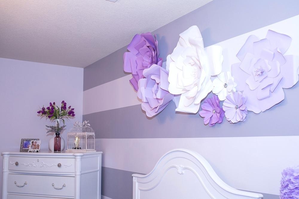 Design Flowers For Wall Tutorial Large Flower Wall - Big Wall Flower Art , HD Wallpaper & Backgrounds