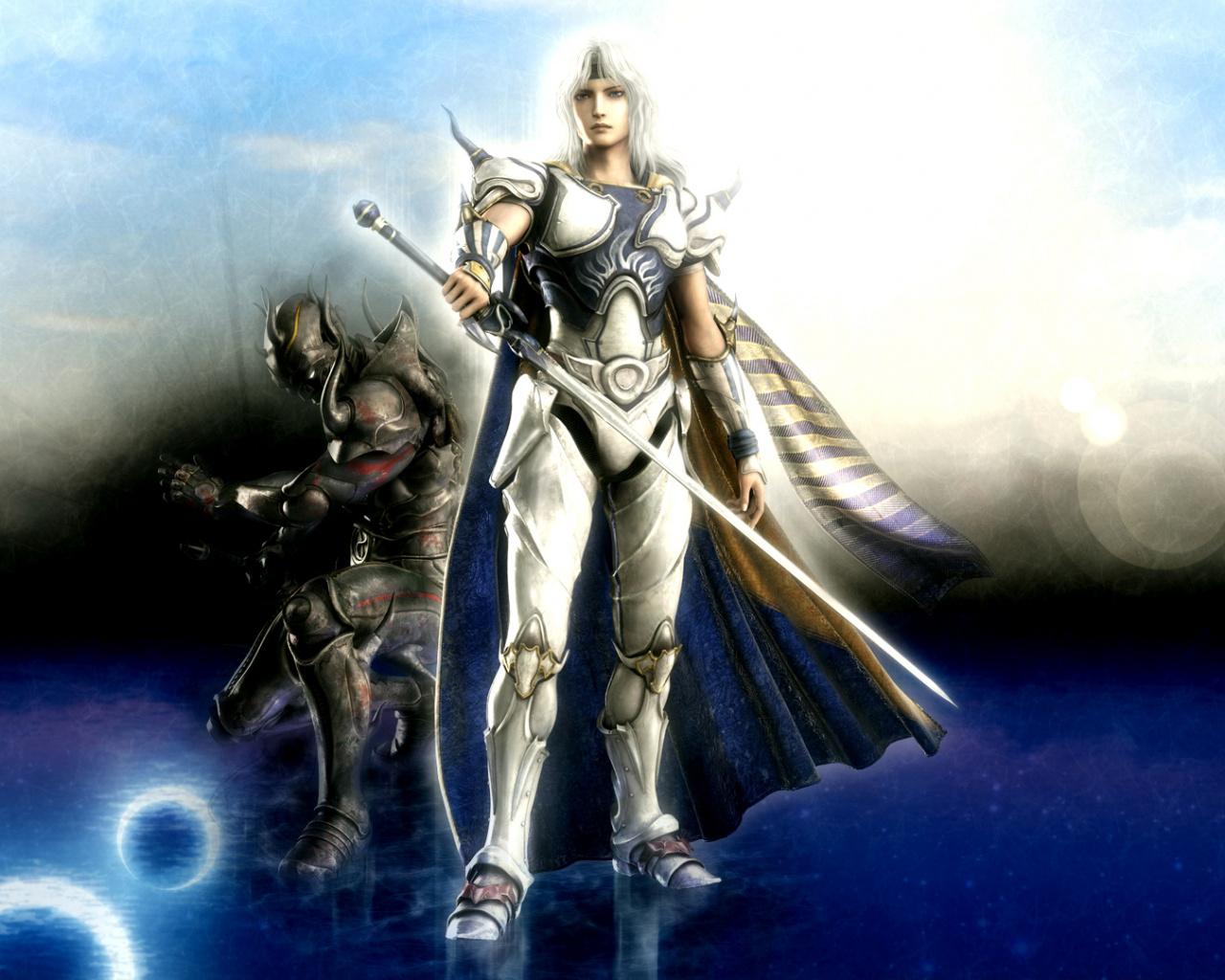 Mythology Cloud Strife Woman Warrior Video Games Final