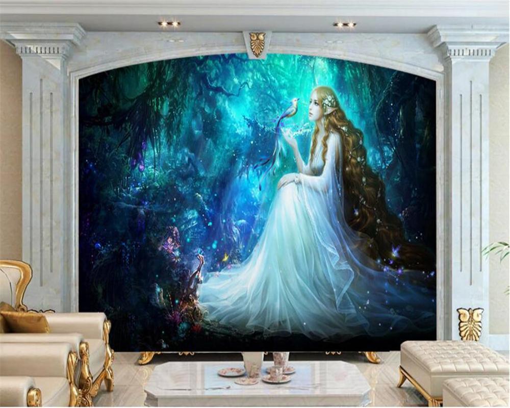 188 1889509 beibehang custom 3d photo wallpaper fantasy fairyland big