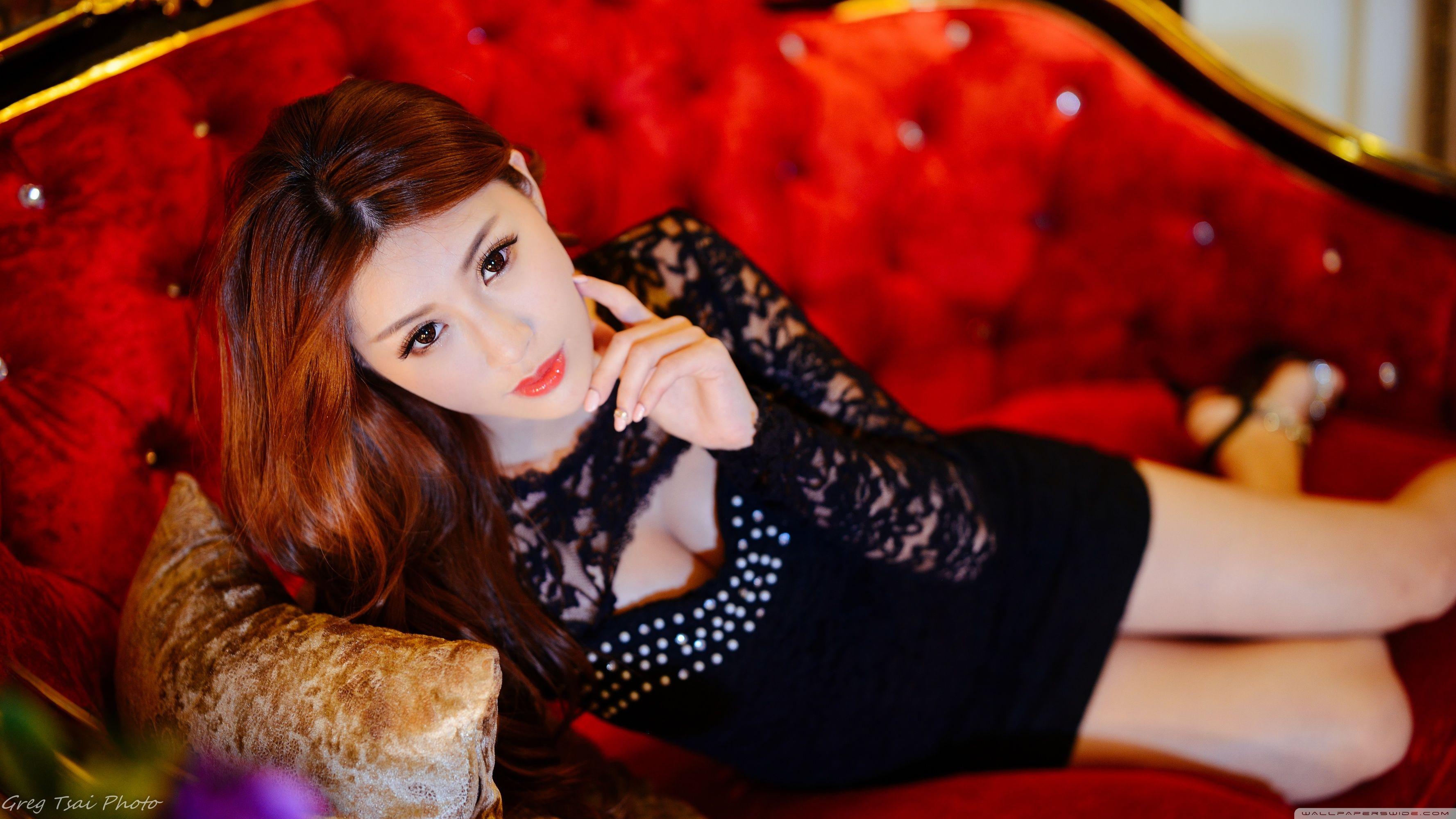 Asian Girl Wallpaper 4k , HD Wallpaper & Backgrounds