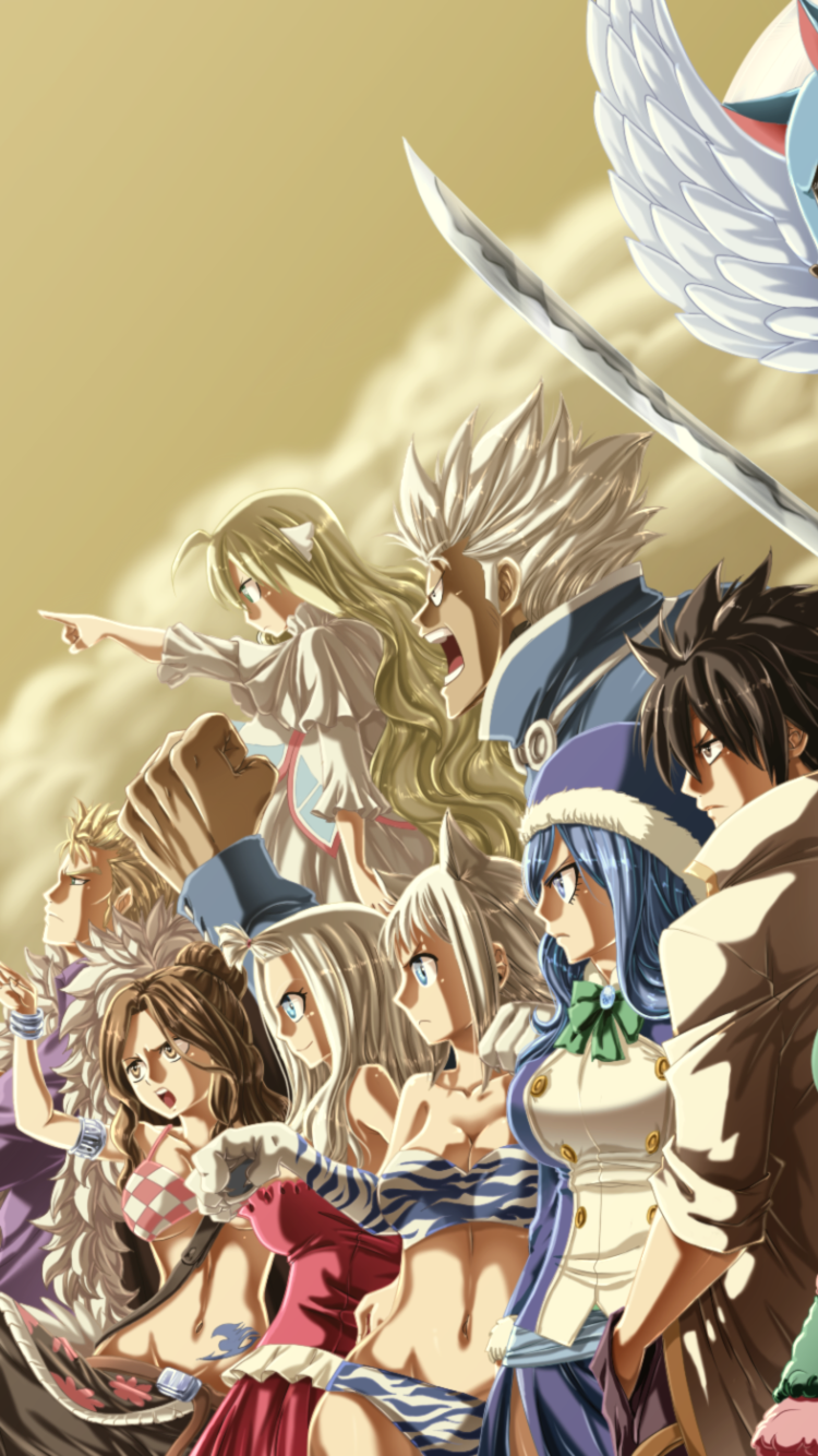 Anime Fairy Tail Mobile Wallpaper Fairy Tail Wallpaper Phone