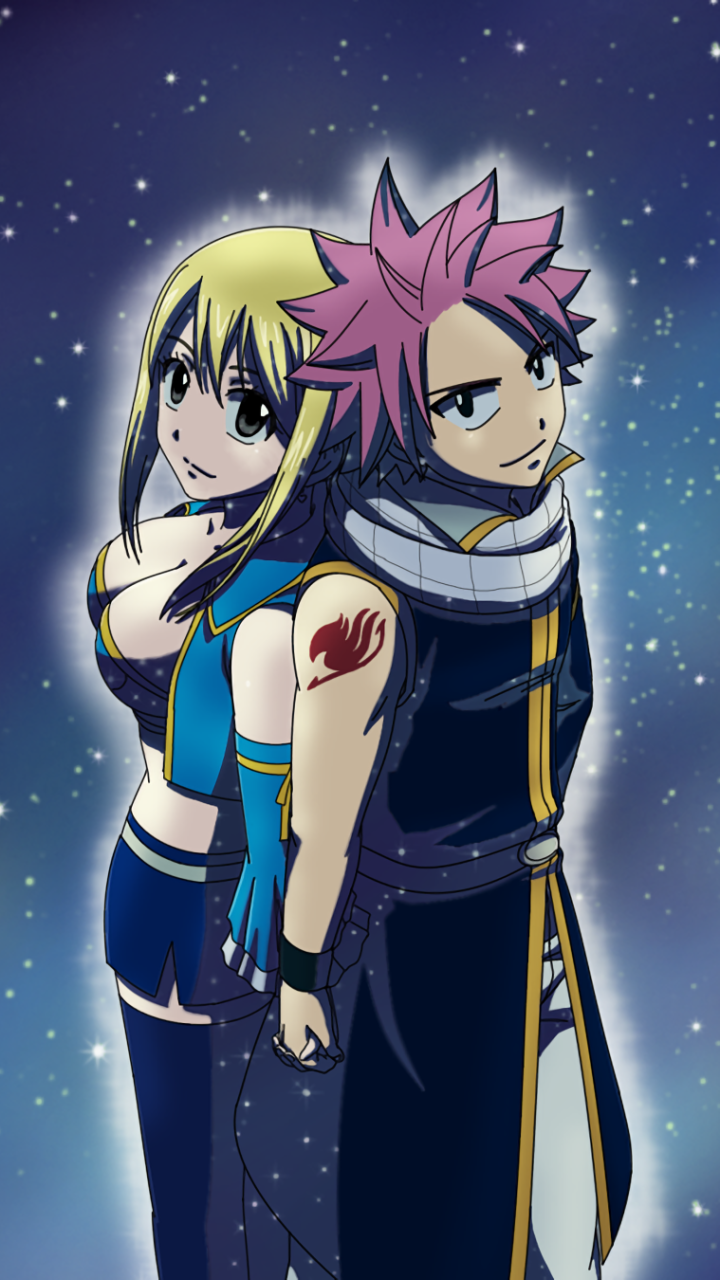 Anime / Fairy Tail Mobile Wallpaper - Fairy Tail Wallpaper Phone , HD Wallpaper & Backgrounds