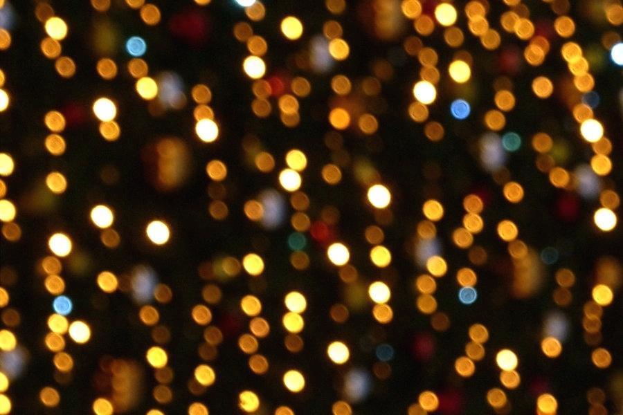 Christmas Light Wallpaper White Lights Wallpaper Christmas - Christmas Lights Texture , HD Wallpaper & Backgrounds