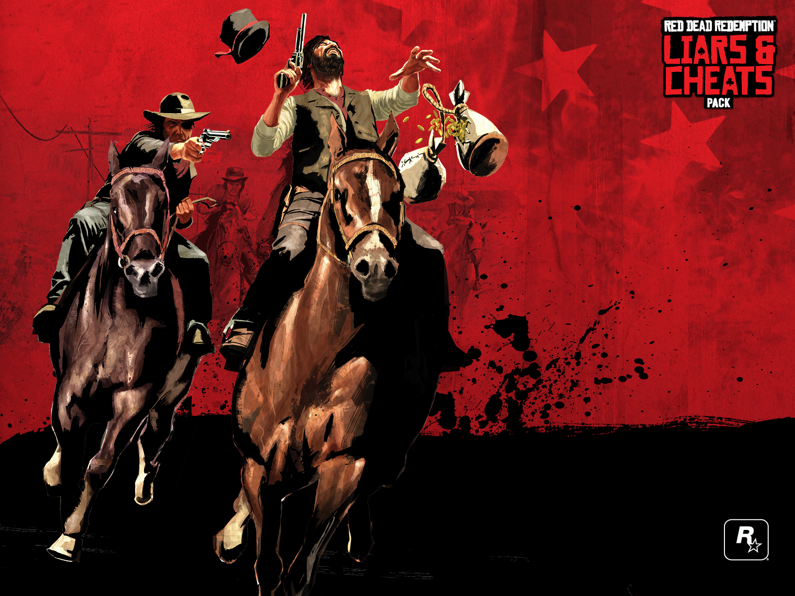 Red Dead Redemption Horses Red Dead Redemption 2 Backgrounds